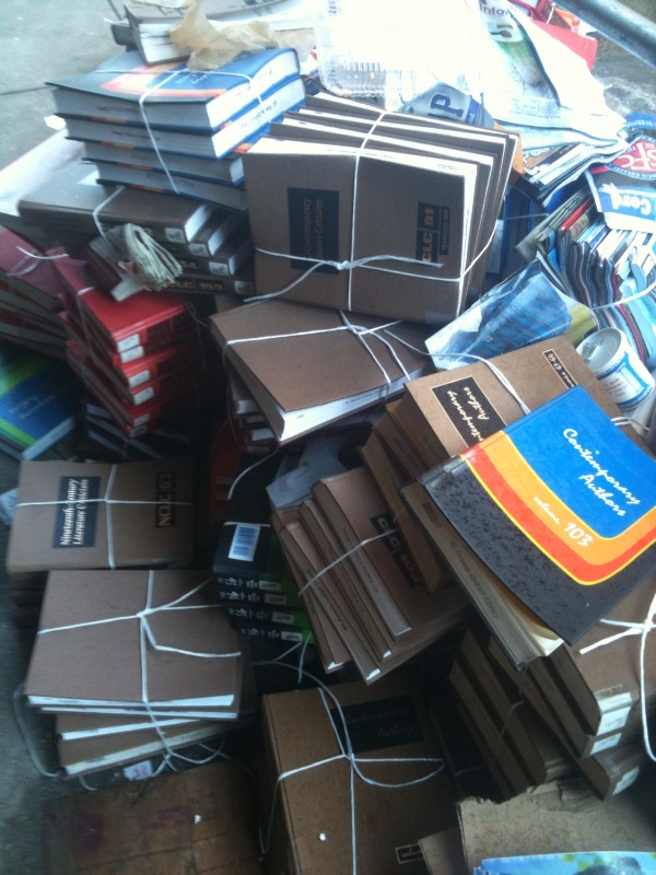 books in trash2